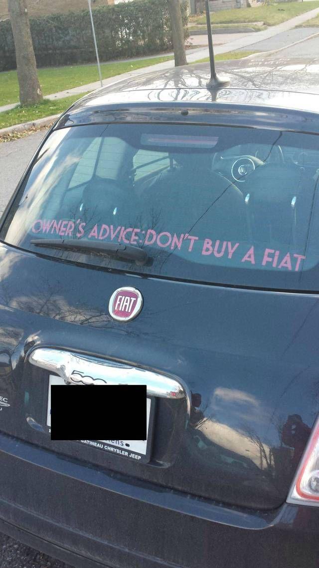 Conseil D Un Proprio D Une Fiat Funny Jokes Pinterest Funny
