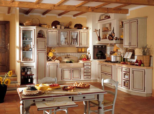 Valeria stile unico cucine su misura kuchnia pinterest country kitchens country and - Cucine in stile country ...