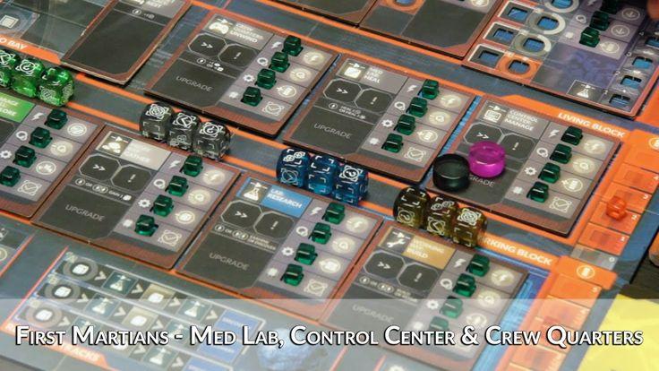 First Martians -  Med Lab, Control Center & Crew Quarters