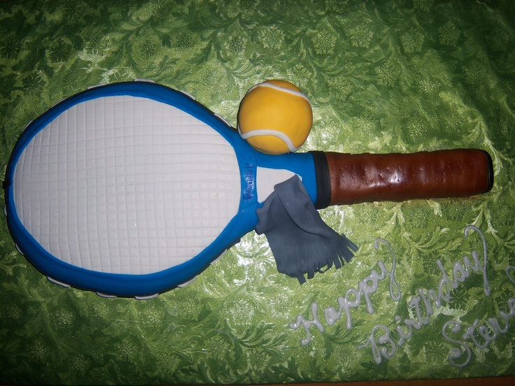 Tennis Racquet Tennis Raquet It 10 Round Cake And Handle