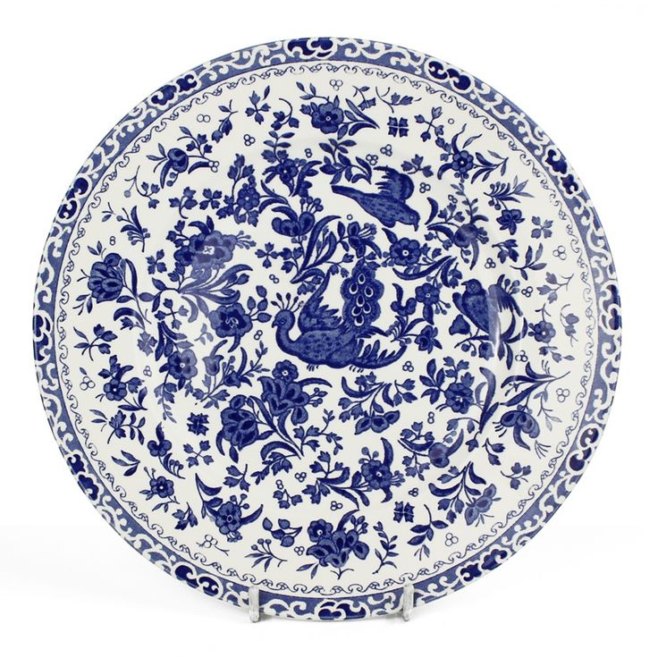 Burleigh Blue Regal Peacock Tableware