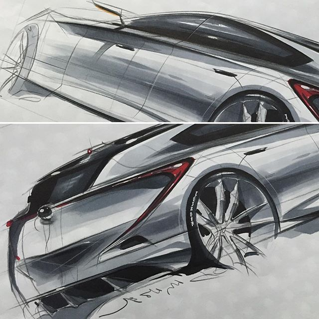 자동차 스케치 & 디자인 Car Sketch & Design #자동차스케치 #자동차디자인 #transportation #ideasketch #carrendering #carsketch #marker #markerrendering #markersketch