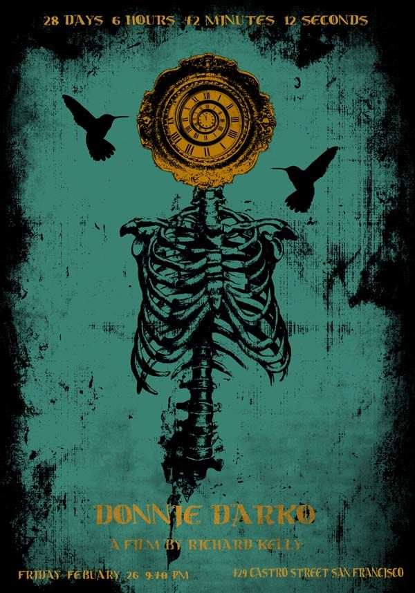 David O Daniel - Donnie Darko #movie #poster
