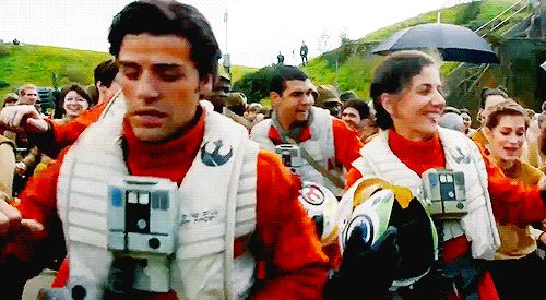 That's One Hell of a Pilot! — HAPPY POE DAMERON DAY!!!