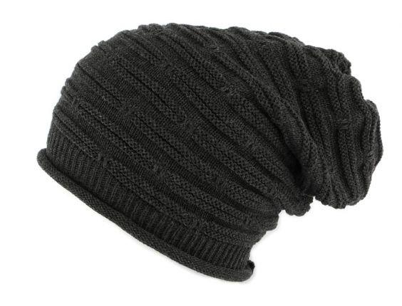 Bonnet Rasta Long Gris Jack Nyls Creation #bonnet #mode #bonplan #streetwear #soldes2016 sur votre #startup Hatshowroom.com