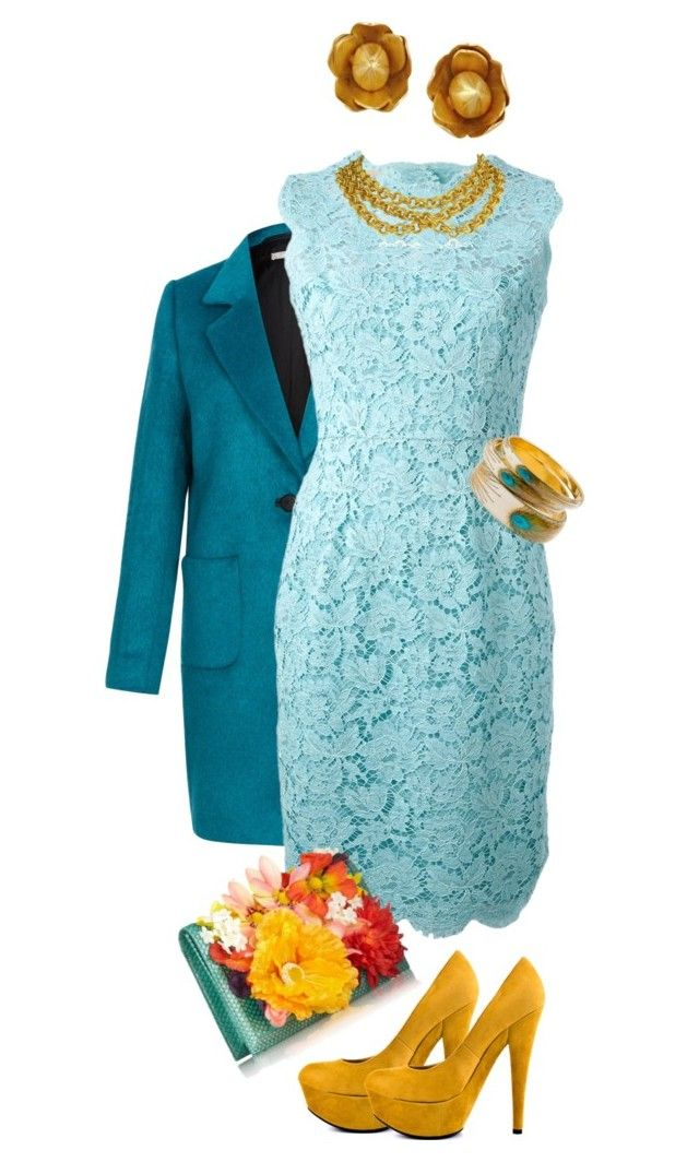 """""""Lace Dress Outfit"""" by jasmineroselily123 ❤ liked on Polyvore featuring Fenn Wright Manson, Valentino, KOTUR, Pippa Small, Ben-Amun, Zad and JustFab"""