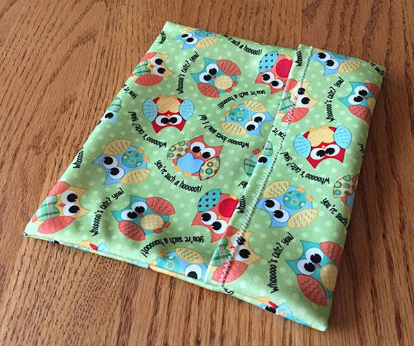 How to sew reusable sandwich bags with PUL fabric