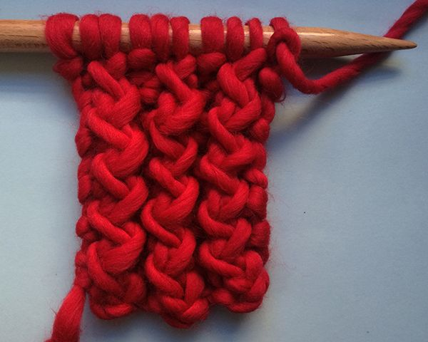 Learn how to knit the rick rack stitch.