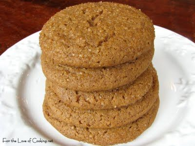For the Love of Cooking - Cinnamon Snap Cookies - This would be a nice ...
