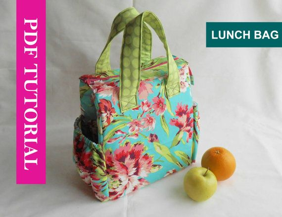 Hey, I found this really awesome Etsy listing at https://www.etsy.com/listing/198377172/insulated-lunch-bag-pattern-lunch-bag