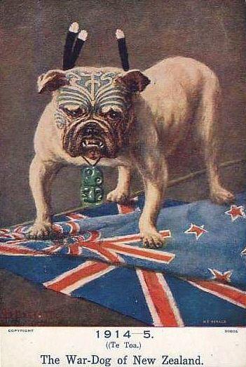 New Zealand WW1 poster