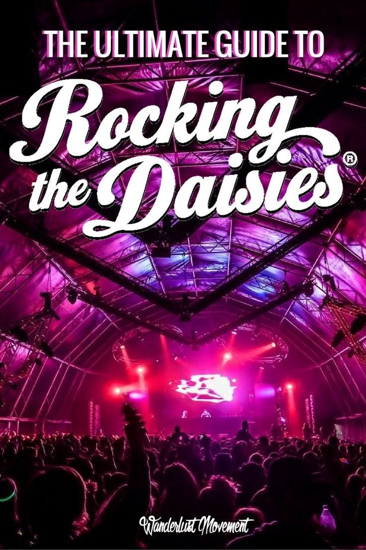 The Ultimate Survival Guide to Rocking The Daisies | Rocking The Daisies is one of South Africa's biggest music festivals. Think of it as our version of Coachella. It's a weekend of fashion, music and having the best time of your life! Here is everything you need to know about surviving your first Rocking The Daisies. Click to read now or pin it and save it for later! | Music Festivals Around The World