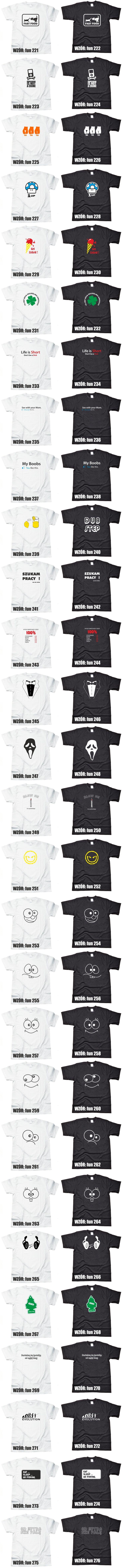 smieszne koszulki z nadrukiem