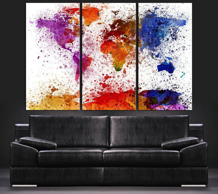 Big Canvas Art Modern Watercolor Abstract Ink Splash Big: Best 25+ Paint Splash Ideas On Pinterest
