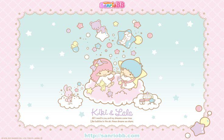 Little Twin Stars Wallpaper 2011 十一月桌布 日本 SanrioBB Present