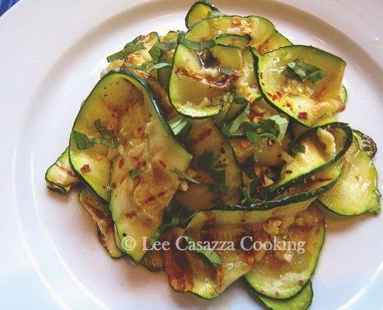 Big Mamma's Italian American Cooking: Grilled Zucchini - Zucchine alla Griglia