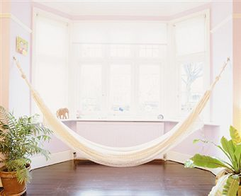 What's really better than an indoor hammock?  For the island feel all year round!