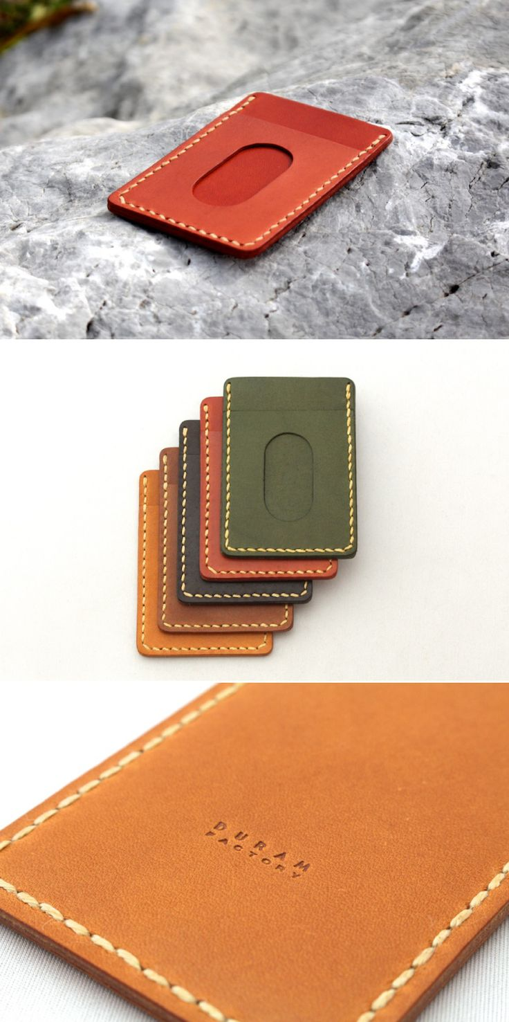 leather pass case | Duram Factory コンセプトが好きで買っちゃいました‼︎