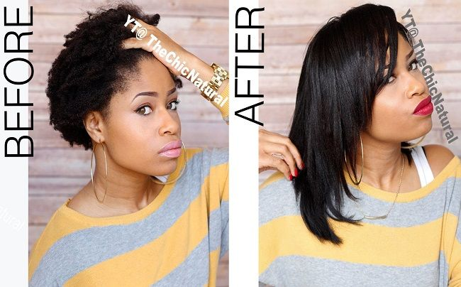 Natural Hair Flat Iron Styles: 17 Best Images About The Goddess's Mane: Straight