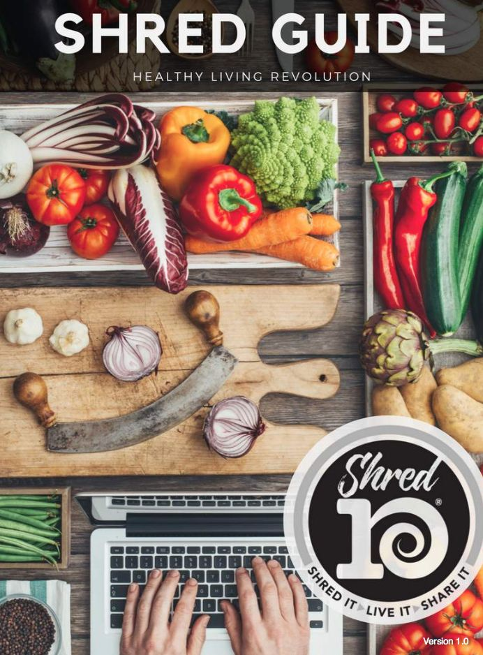 10 Day Shred Guide and Recipes.