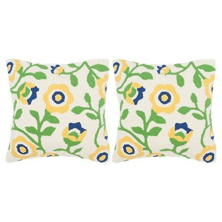 Provence Floral Throw Pillow Set - Safavieh : Target