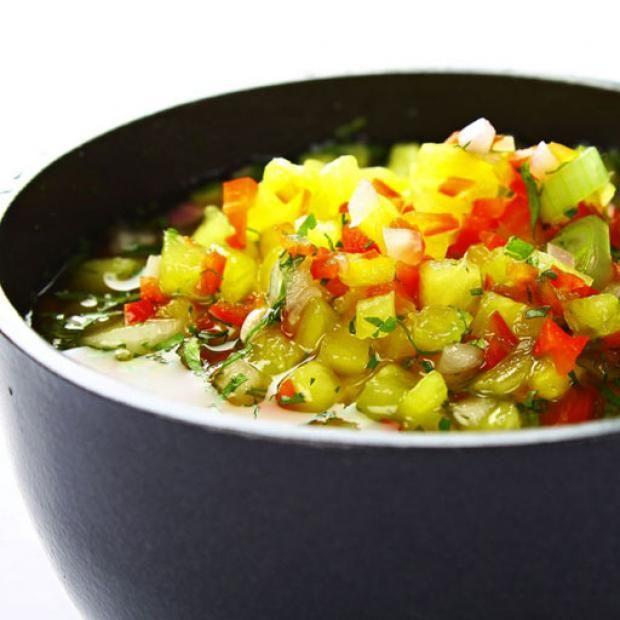 receta  ají de piña colombiano