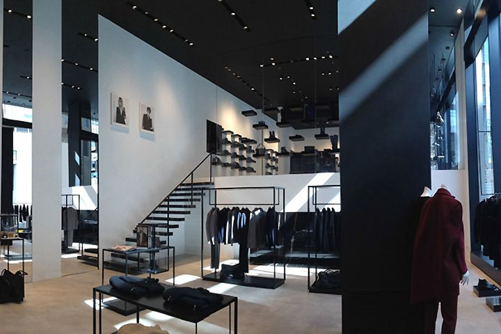 CoSTUME NATIONAL store by Ennio Capasa Milan Italy