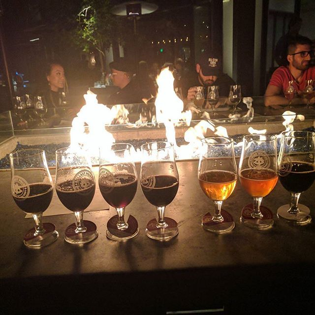 National Drink Beer Day? If I must! Nothing like ending up at my favorite brewery with my favorite server and so many amazing beers  #nationalbeerday #allthebeer #beerflight #beertasting #sandiegobeer #fire #friyay #beerday #beer #ballastpoint #greenflash #alesmith #untapped #miramar #sandiegobeer #sandiego #sandiegoconnection #sdlocals #sandiegolocals - posted by Nikki LW https://www.instagram.com/nikkilincwill. See more San Diego Beer at http://sdconnection.com