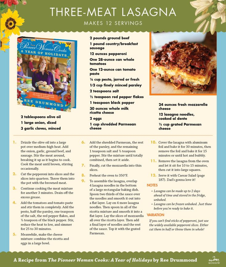 17 Best ideas about Pioneer Woman Lasagna on Pinterest ...