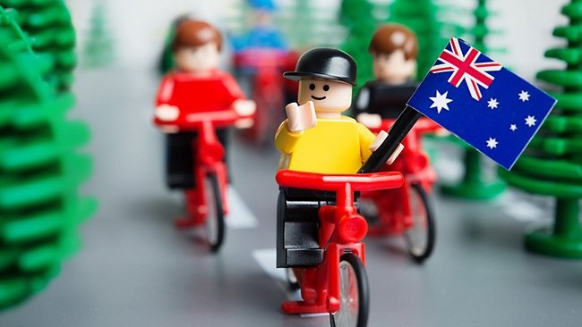 Great moments in Australian history, through Lego :)