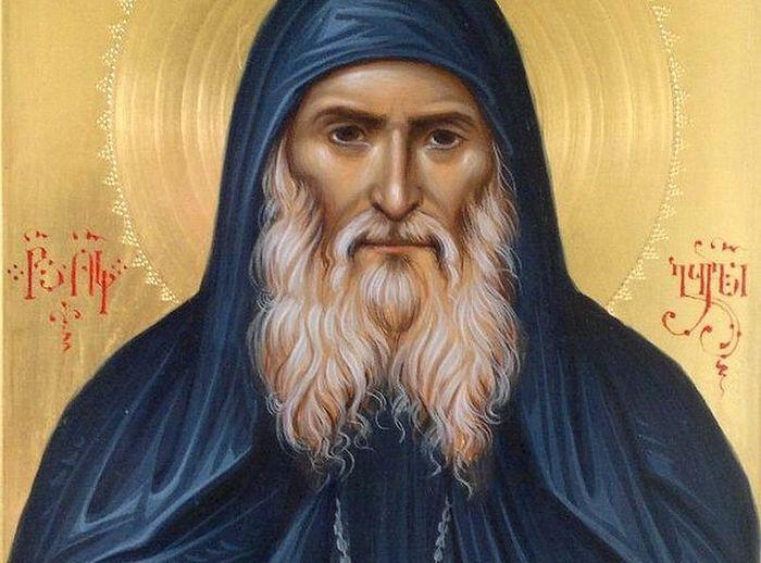 St. Gabriel (Ugrebadze). An icon painted by Zurab Modebadze.