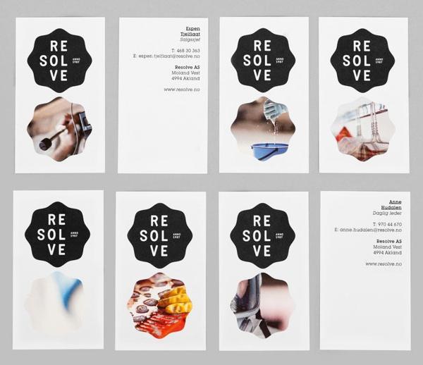 Resolve identity designed by Neue.