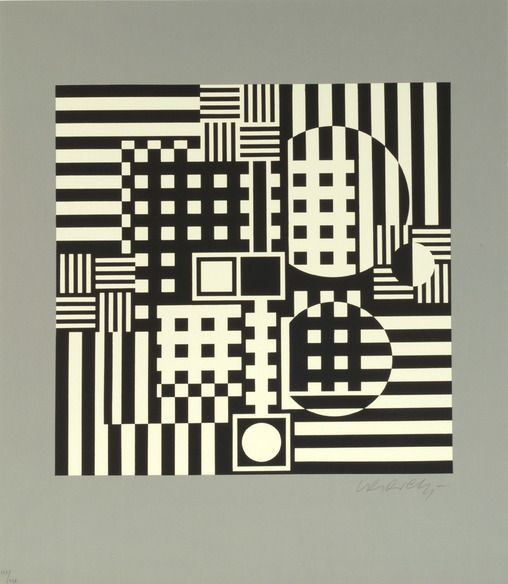 Pleione Victor Vasarely - William Weston Gallery