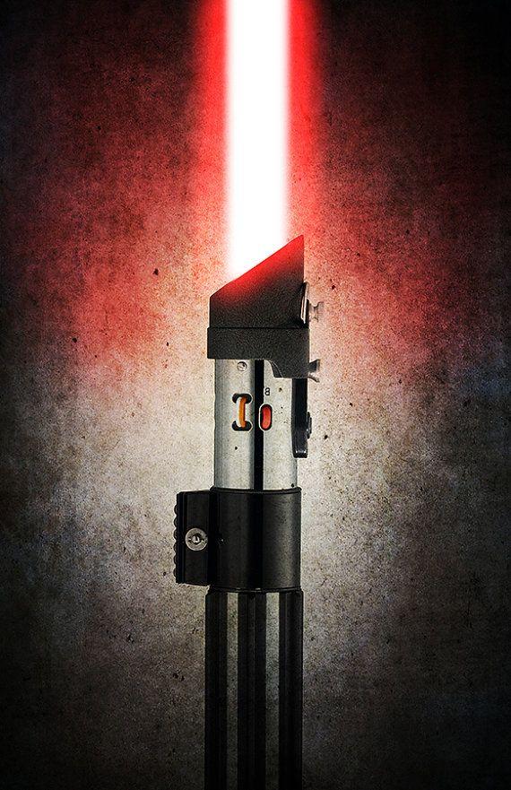 Darth Vader's Lightsaber... From the Movie Star Wars
