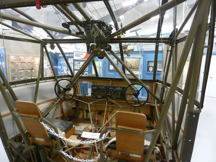 Waco CG-4A Cockpit, inside the Atterbury-Bakalar Air Museum | Flickr photo by  CorvetteK225