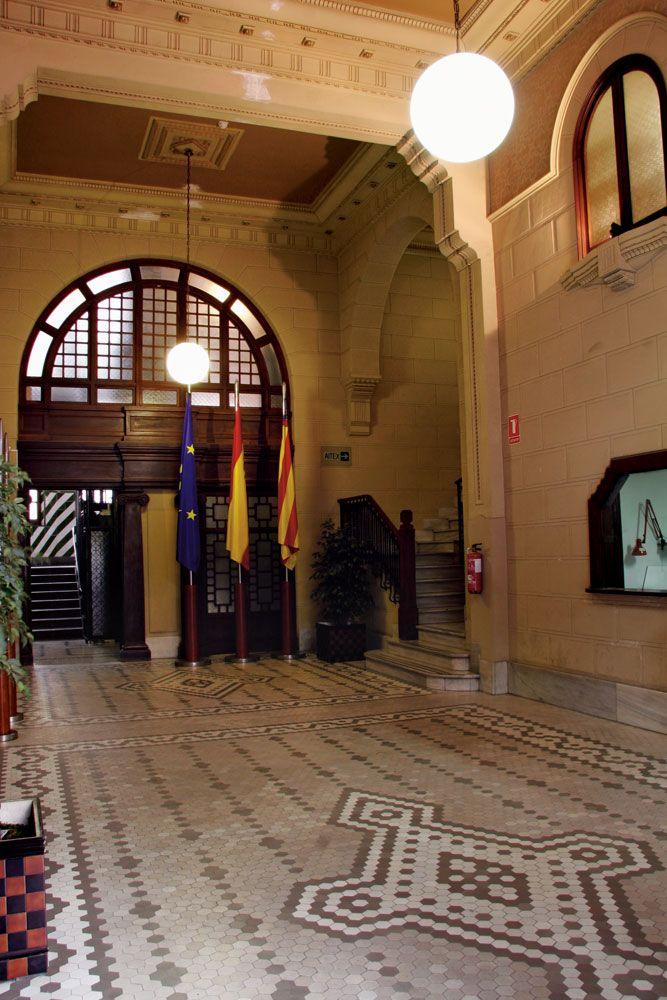 Interior del antiguo edificio de la empresa Papeleras Reunidas. #Alcoy #Alcoi #patrimonioindustrial