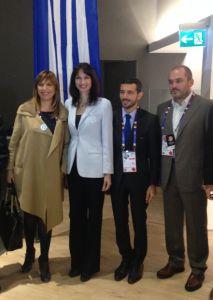 Η Αναπληρώτρια Υπουργός Οικονομίας, Ανάπτυξης και Τουρισμού, κυρία Έλενα Κουντουρά, εκπροσώπησε την Ελληνική Κυβέρνηση στις 21 Οκτωβρίου 2015, κατά τον εορτασμό της «Ημέρας της Ελλάδας», στο πλαίσι…