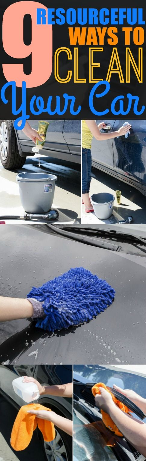 Cleaning my car has never been easier thanks to these 9 car cleaning hacks. You have to try these hacks!