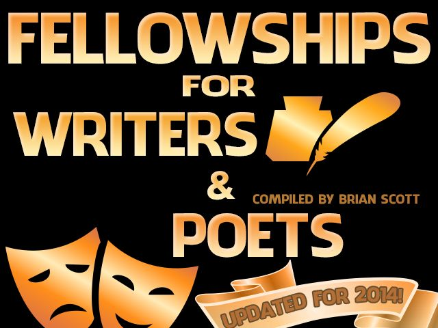 Fellowships for Writers and Poets - No Entry Fees! (Updated for 2014-2015)
