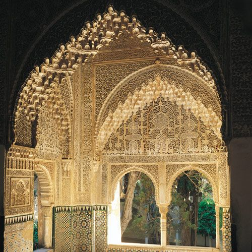 Image issue du site Web http://andalousie-culture-histoire.com/wp-content/uploads/2012/02/palais-nasride-alhambra-grenade-02.jpg