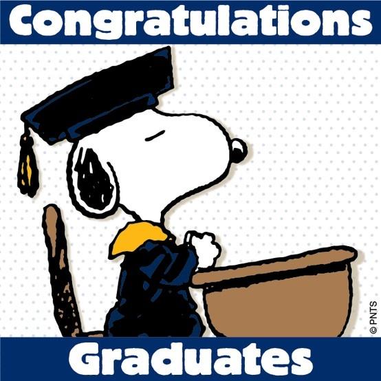 Snoopy Congratulations Graduates