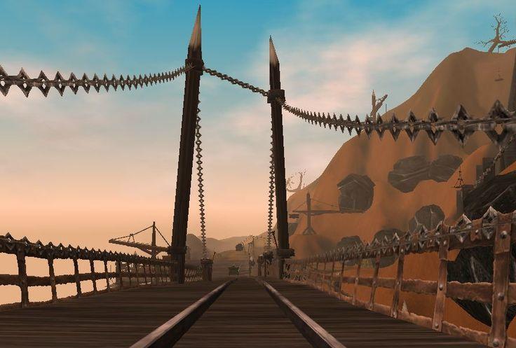 Ignis Bridge - I wish I had a photo of the first bridge...it was incredible