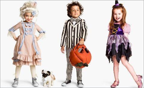 Фото детского костюма на хэллоуин