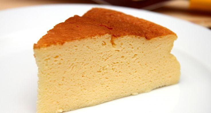 Habkönnyű japán sajttorta recept | APRÓSÉF.HU - receptek képekkel