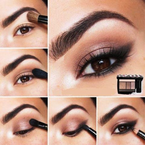 Arabian New Look Eye Makeup For Women
