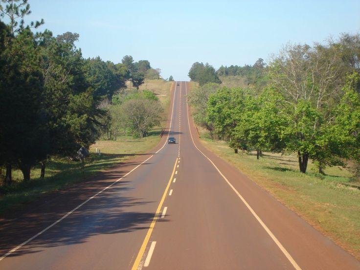 Ruta Nacional 12 de la provincia de #Misiones. #Rutas #Turismo #Argentina #ViajesGuíasYPF #GuíasYPF #Viajes #YPF