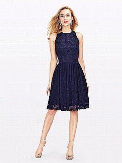 Juanitea - γραμμή α κόσμημα ντεκολτέ δαντέλα φορέματα κουμπάρας - EUR 90,25€