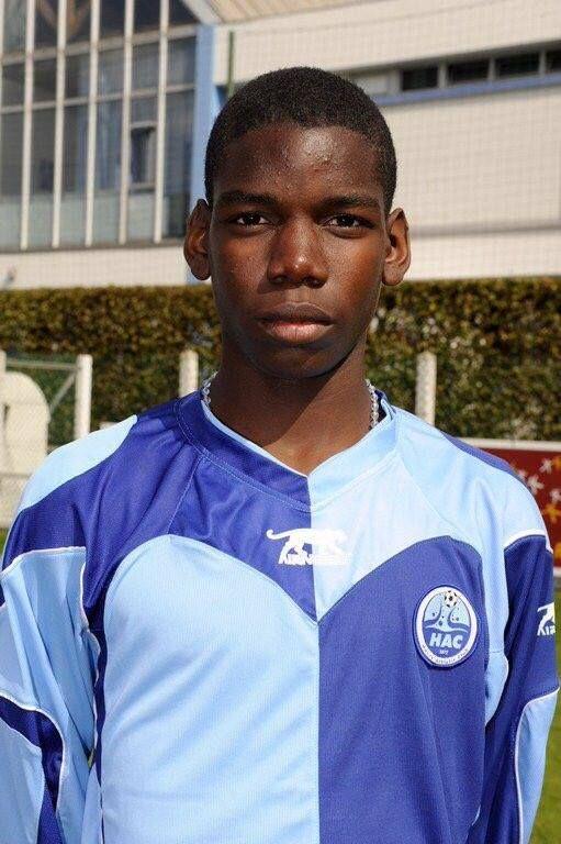 Pogba 14 anos Le Havre.