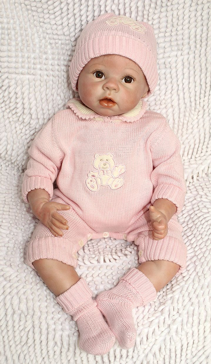 Cute Reborn Baby Doll Soft Silicone 18 Inch Handmade Baby: 25+ Best Ideas About Best Baby Doll On Pinterest