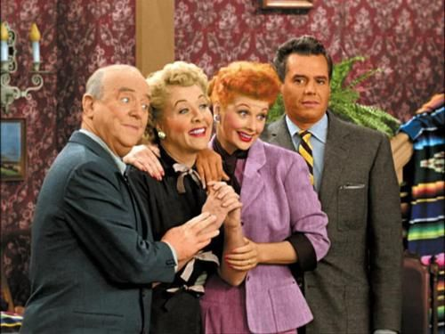 Fred, Ethel, Lucy and Ricky - I Love Lucy Show -- Love them!